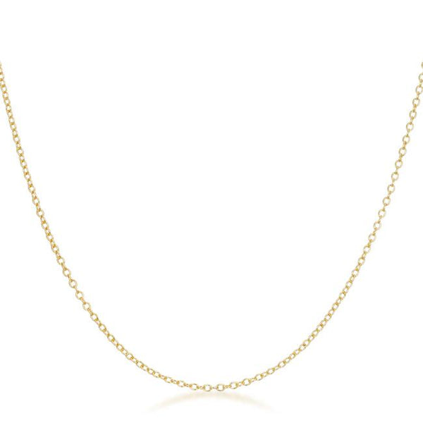 Delicate Gold Link Chain - THE LUSTRO HUT