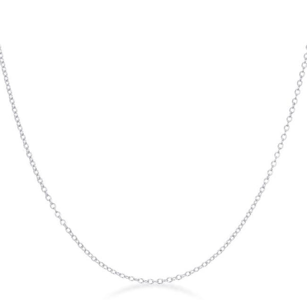 Delicate Sterling Silver Link Chain