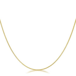 18 Inch Golden Snake Chain - THE LUSTRO HUT