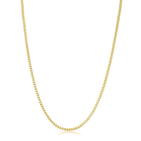 Golden Rolo Chain - 2mm - THE LUSTRO HUT