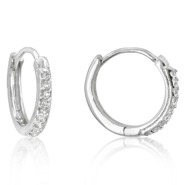 Classic Tiny Hoop Earrings - THE LUSTRO HUT