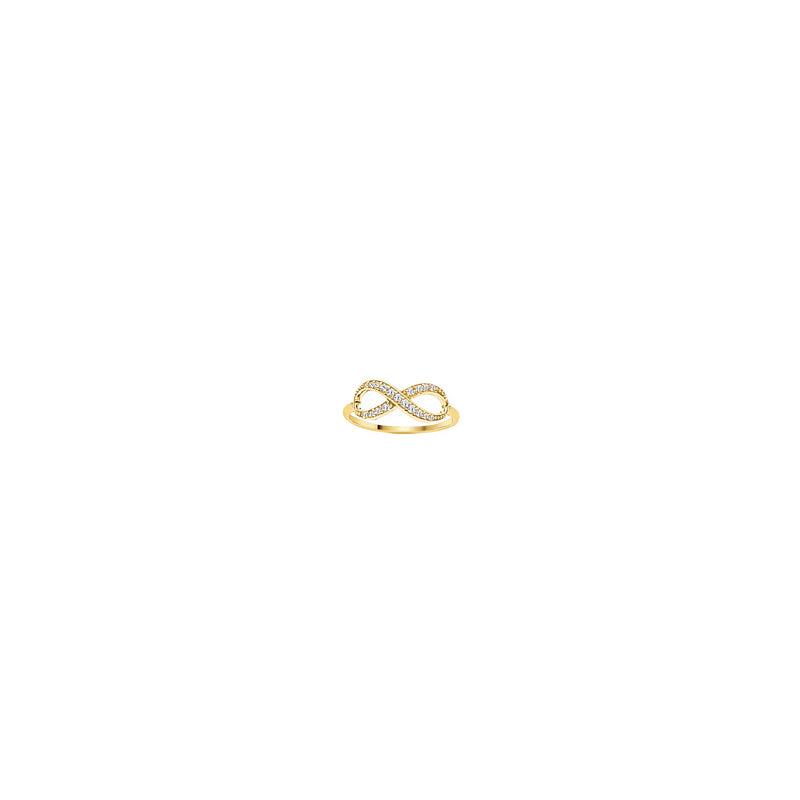 SS E2W INFINITY RING YLW