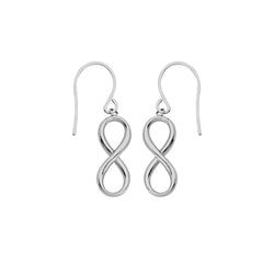 DANGLE INFINTY EARRINGS WITH EURO WIRE