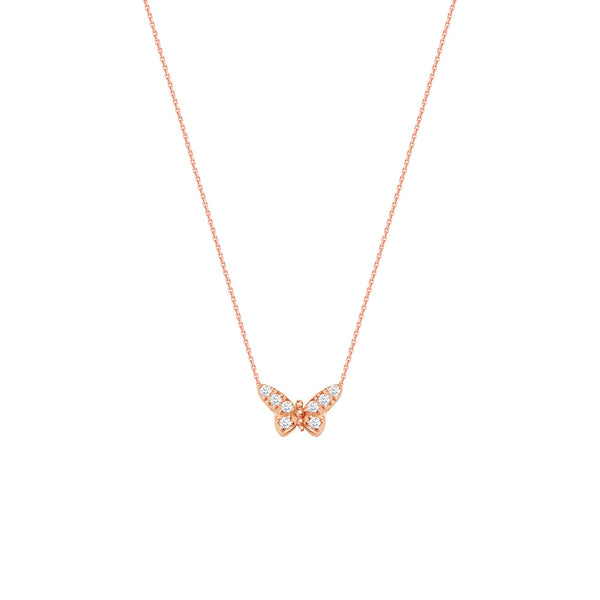 E2W ADJ.MINI CZ BUTTERFLY NECK-DC CABLE