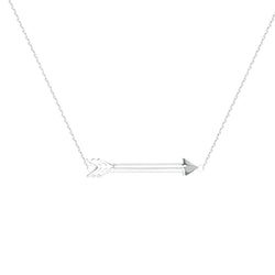 E2W ADJ. ARROW NECKLACE -D/C CABLE