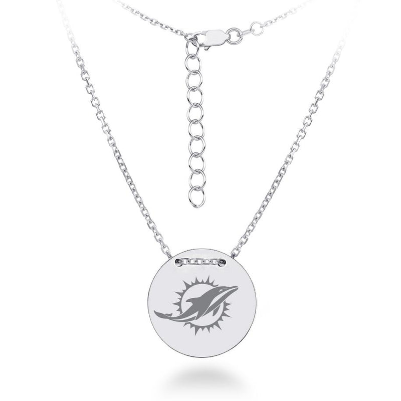 NFL MIAMI DOLPHINS TAILORED NECKLACE