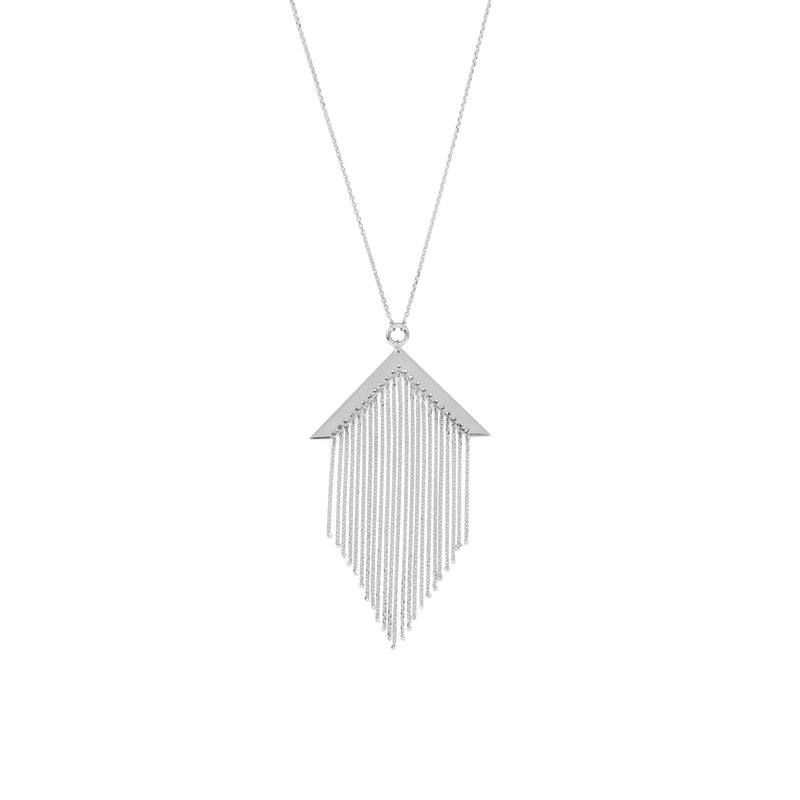 ADJ. FANCY TASSEL NECKLACE
