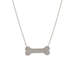 ADJ. DOG BONE NECKLACE