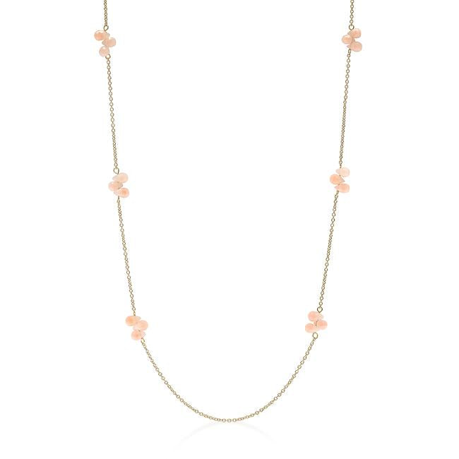 36 Inch Beaded Station Necklace - THE LUSTRO HUT