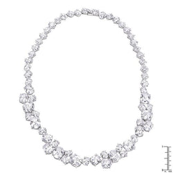 Bejeweled Cubic Zirconia Collar Necklace - THE LUSTRO HUT