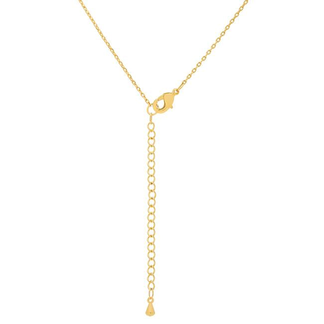 Golden Initial T Pendant - THE LUSTRO HUT