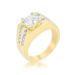 Barracuda Cubic Zirconia Ring - THE LUSTRO HUT