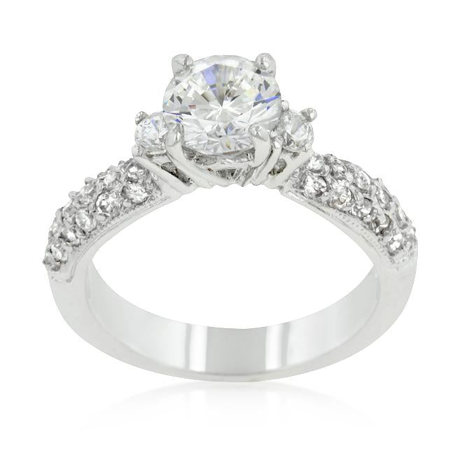 Classic Pave Bridal Ring - THE LUSTRO HUT