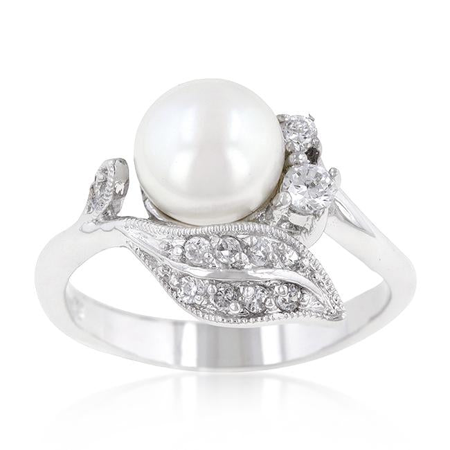 Fleur Pearl Ring - THE LUSTRO HUT