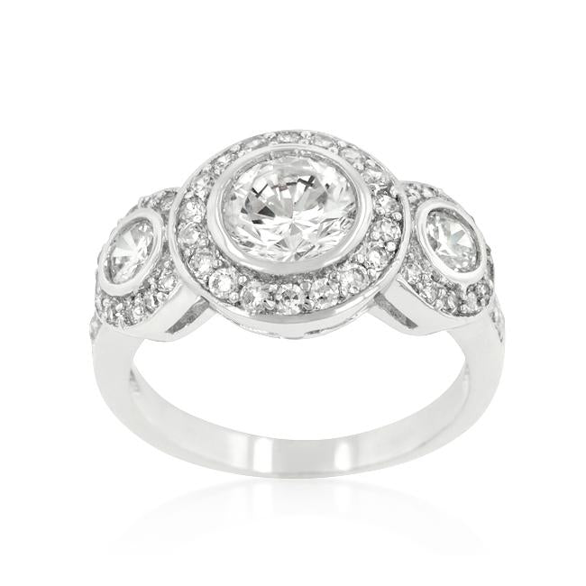 Fitzgerald Cubic Zirconia Ring - THE LUSTRO HUT