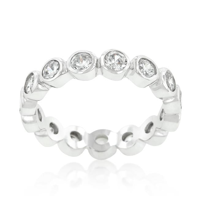 Linked Bezel Eternity Band - THE LUSTRO HUT