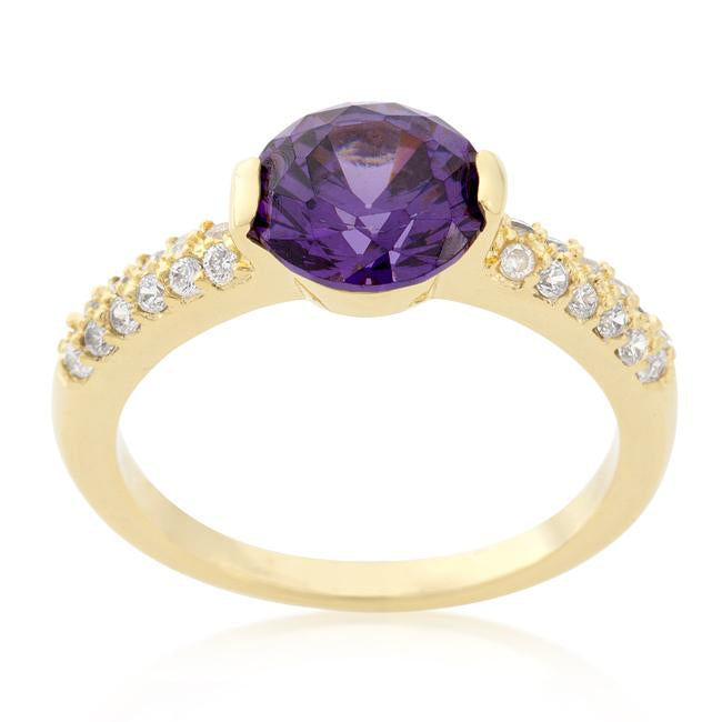 Purple Isabelle Engagement Ring