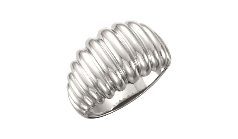 Continuum Sterling Silver Design Ring