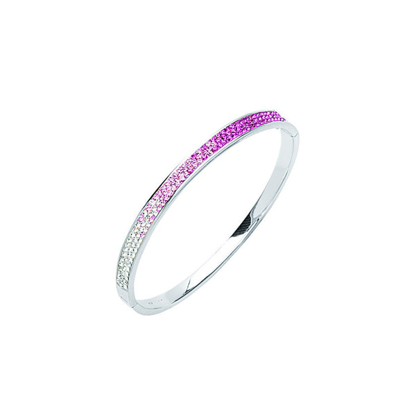 ROSE CRYSTAL BANGLE