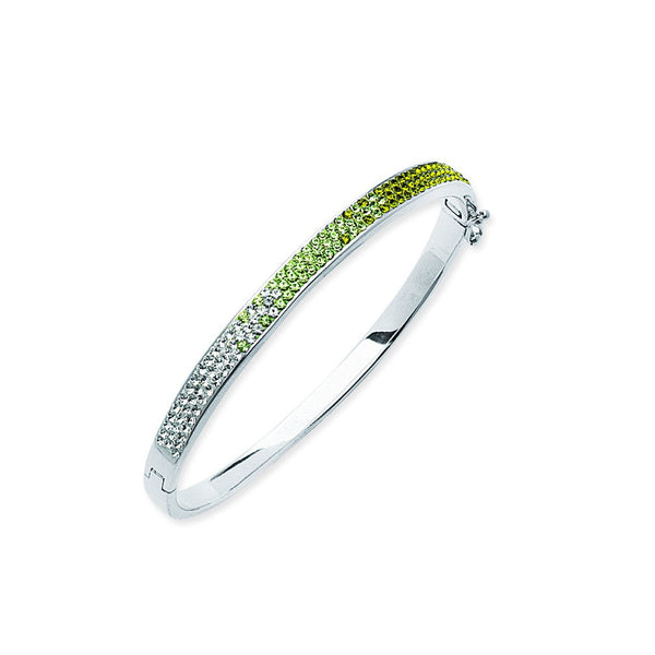 FANCY GREEN FANCY BANGLE