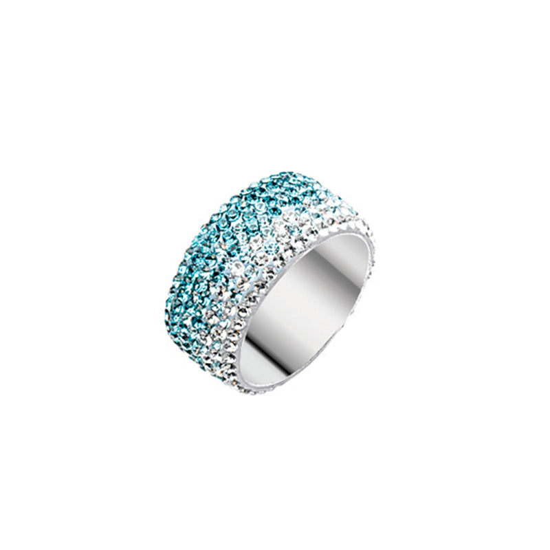 FANCY CRYSTAL ETERNITY RING