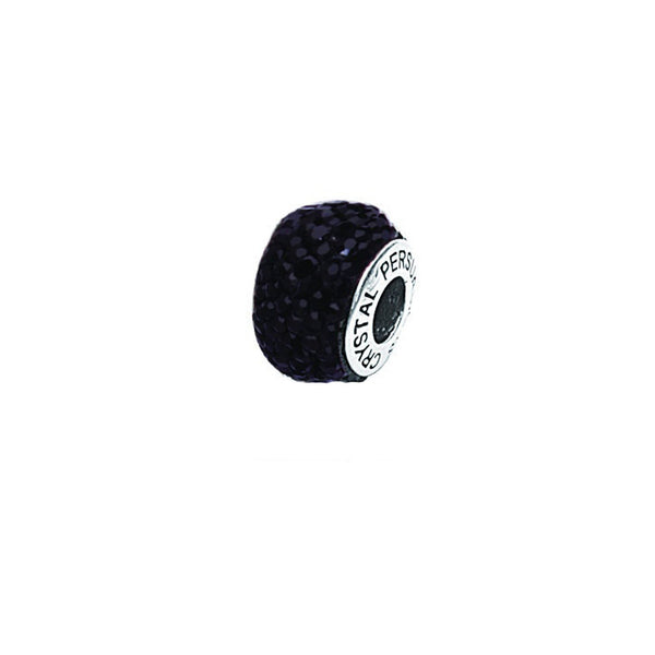 BLACK CRYSTAL BEAD