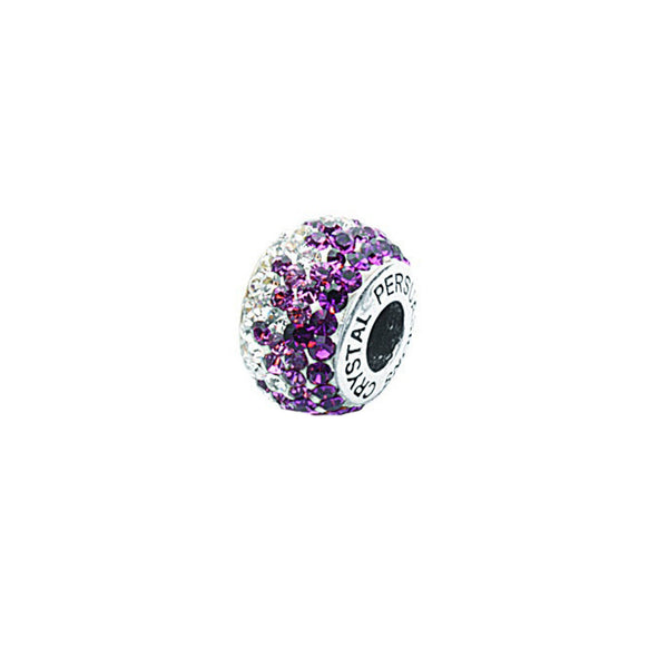 FADED PURPLE CRYSTAL BEAD