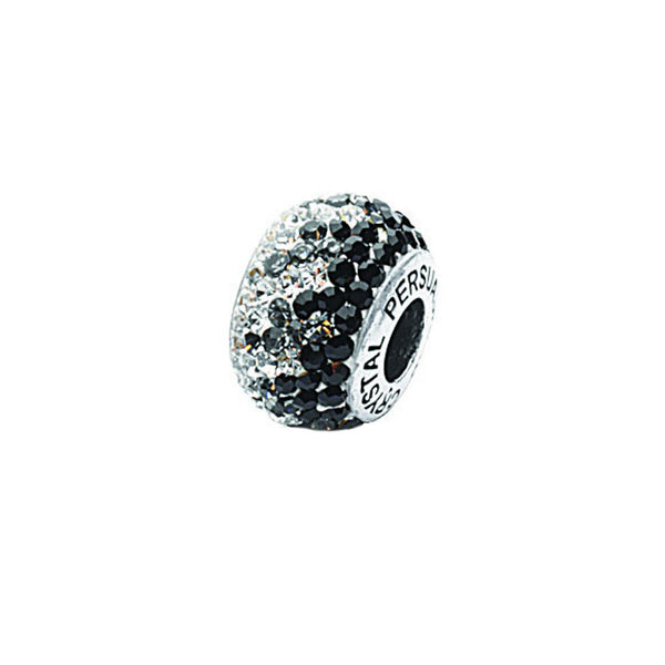 FADED BLACK CRYSTAL BEAD