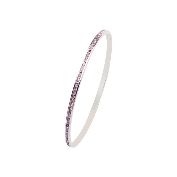 PURPLE CRYSTAL BANGLE