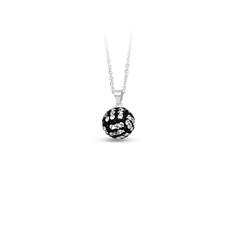 SS 12MM VOLLEYBALL NECKLACE