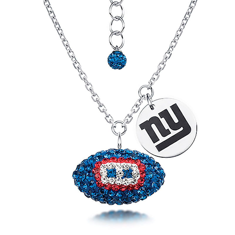 NFL NEW YORK GIANTS FOOTBALL NECKLACE