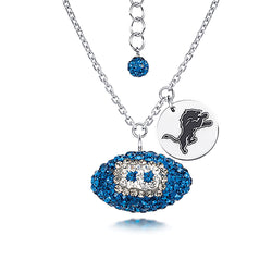 NFL DETROIT LIONS FOOTBALL NECKLACE