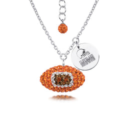 NFL CLEVELAND BROWNS FOOTBALL NEKCLACE