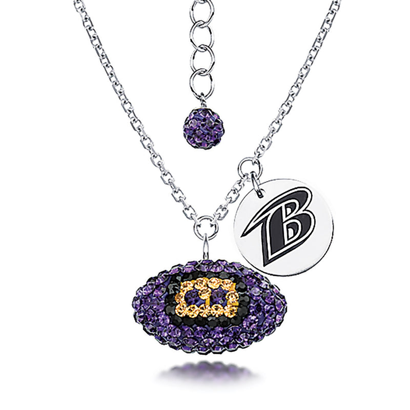 NFL BALTIMORE RAVENS FOOTBALL NEKCLACE