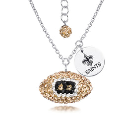 NFL ORLEANS SAINTS FOOTBALL NECKLACE