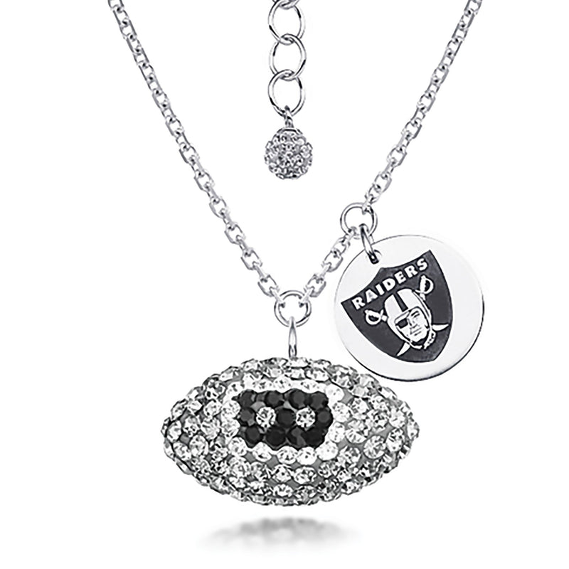 NFL OAKLAND RAIDERS FOOTBALL NECKLACE