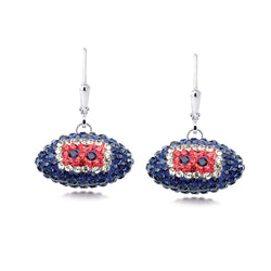 NFL HOUSTON TEXANS FOOTBALL EARRING