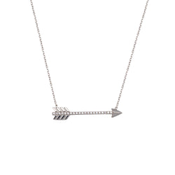 CZ ARROW NECKLACE