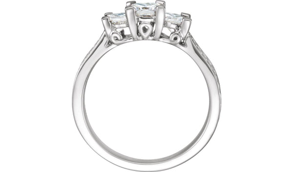 1 CTW Diamond 3-Stone Anniversary Ring