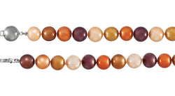 "Sterling Silver Freshwater Cultured Dyed Chocolate Pearl 7.75"" Bracelet"