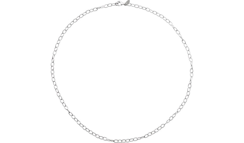 "Sterling Silver 3.5 mm Knurled Cable 7"" Bracelet"