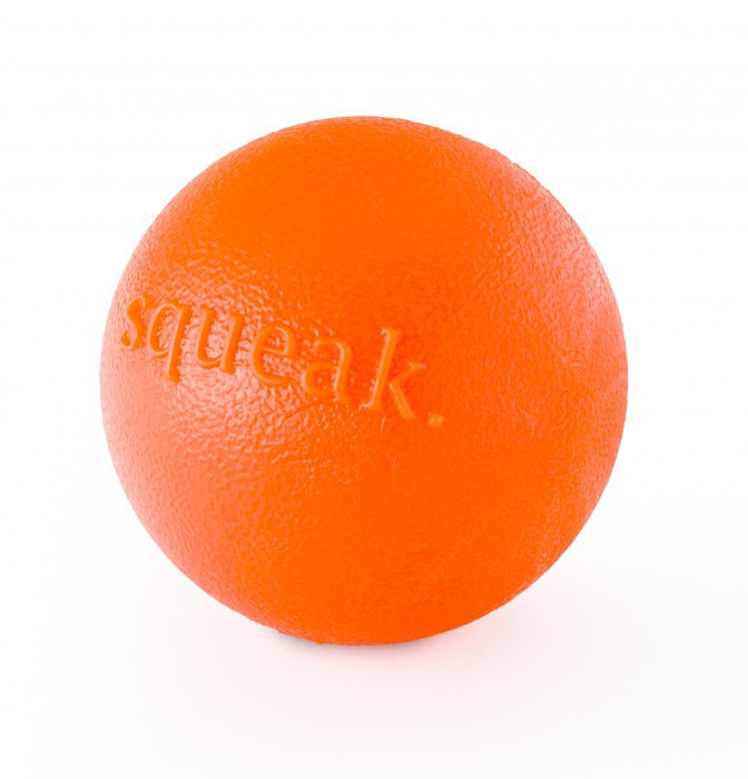 Planet Dog Pelota Squeak Naranja