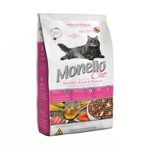Monello Cat Salmon, Atun & Pollo- Clínica veterinaria