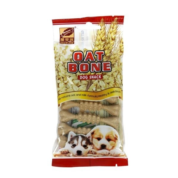 Dog snack Gnawlers oat bone x 7 und- Clínica veterinaria