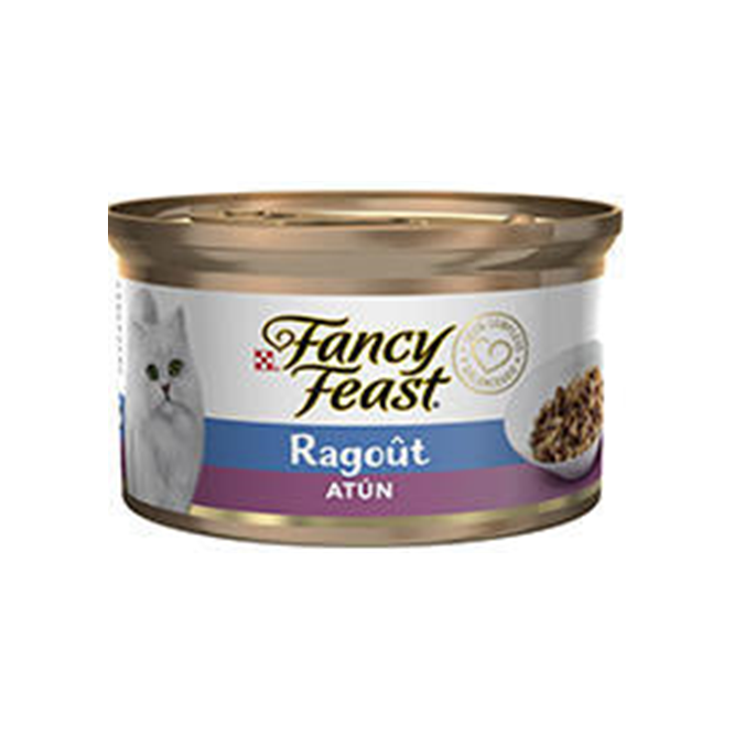 Fancy Feast Ragout Atún- Clínica veterinaria