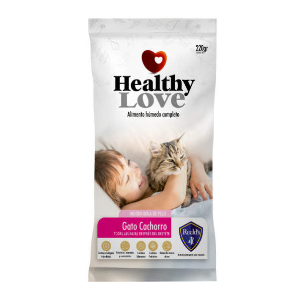 HEALTHY LOVE GATOS CACHORROS 220G