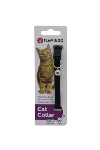 Collar Gato Zoo Nylon Colores Surtidos- Clínica veterinaria