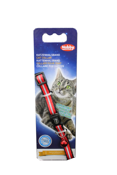 Collar Gato Nylon Safety Security- Clínica veterinaria