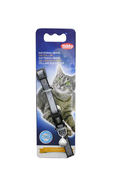 Collar Gato Glitter de Colores Safety Security- Clínica veterinaria