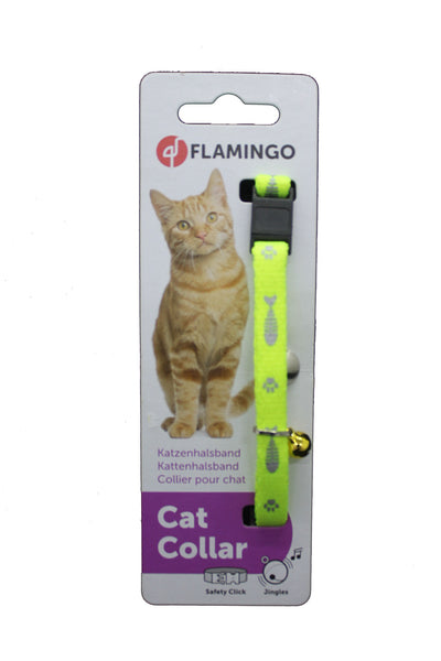 Collar Gato Reflective Safety Security - Clínica veterinaria